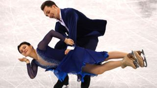 Natalia Kaliszek and Maksym Spodyriev of Poland