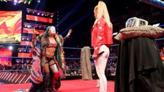 WWE アスカ スマックダウン女子王座 挑戦