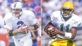 1. Tim Couch vs. Akili Smith, 1999