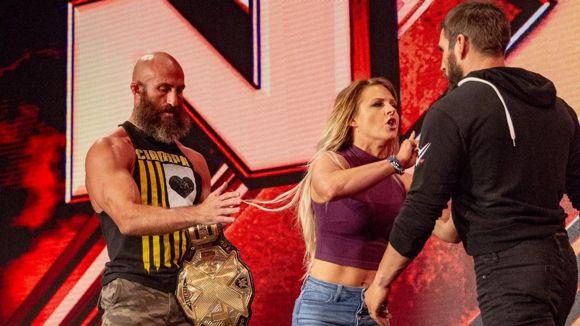 WWE, NXT, #488, チャンパとガルガノの和解に妻キャンディスが待った