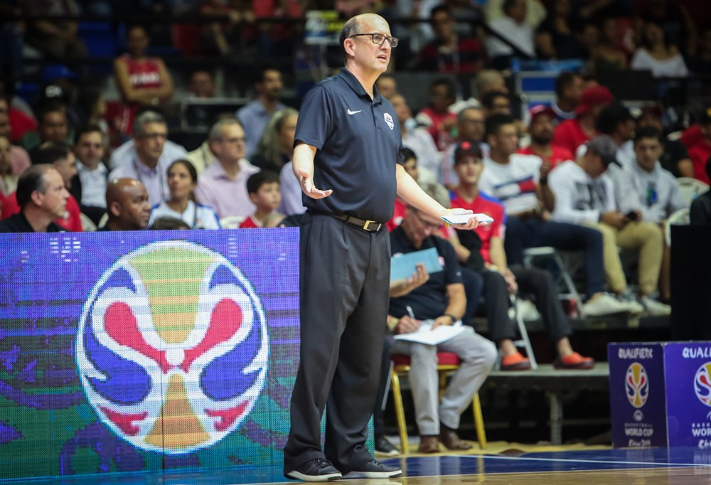 Jeff Van Gundy USA Basketball FIBA