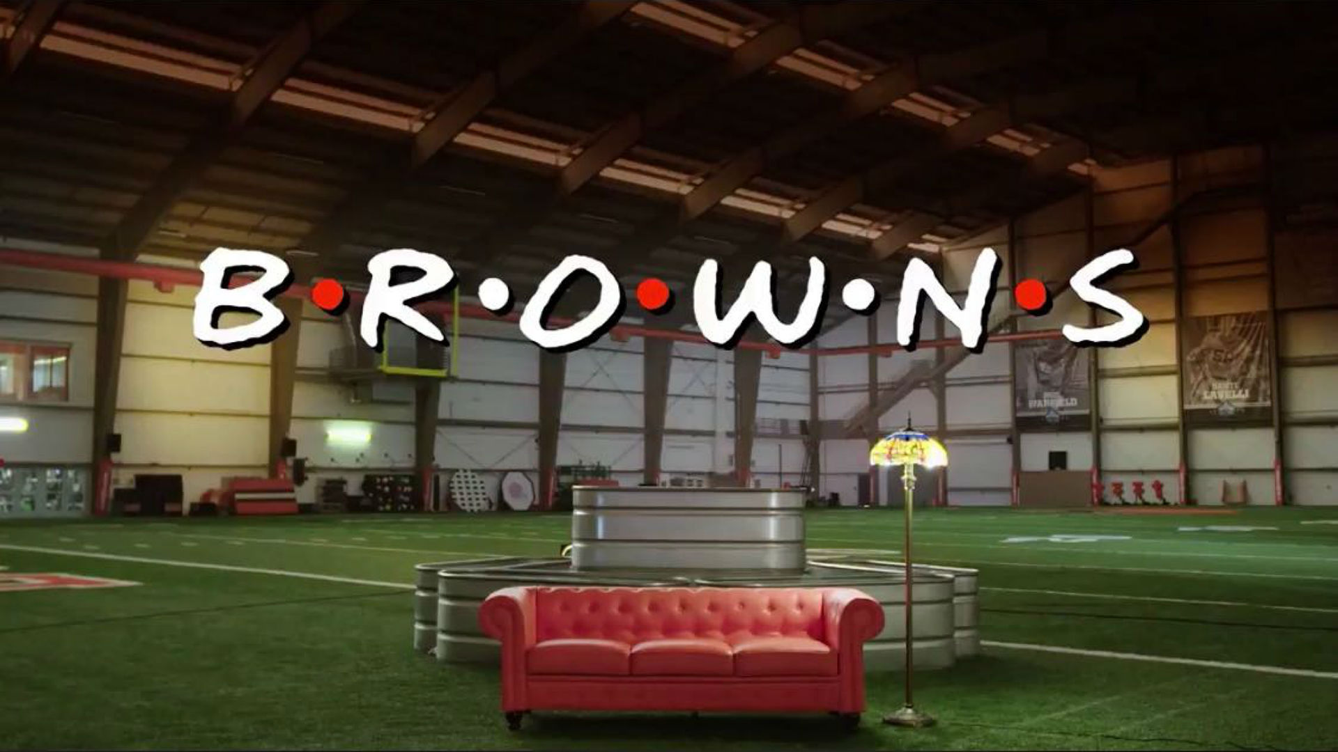 Browns share 'Friends' intro parody featuring Odell Beckham Jr., Jarvis Landry