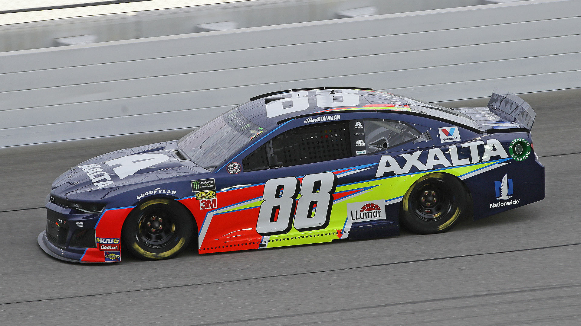 NASCAR results at Chicago: Alex Bowman wins first Monster Energy Cup Series race of career in Camping World 400