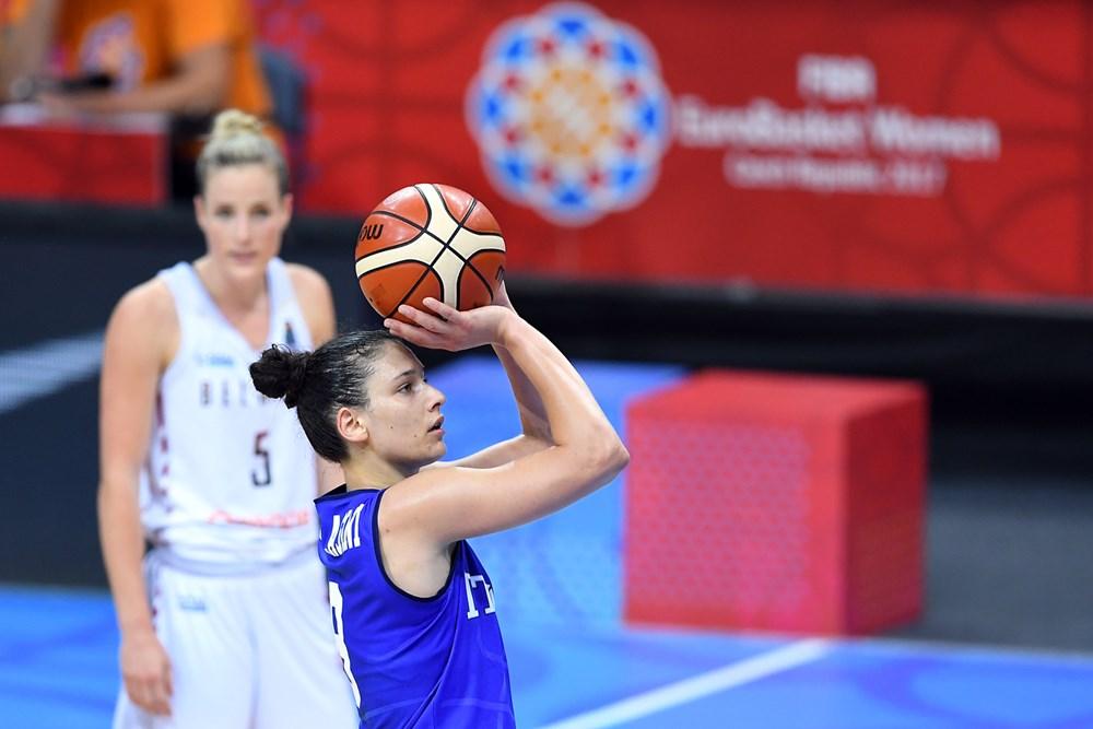 Cecilia Zandalasini FIBA Italy