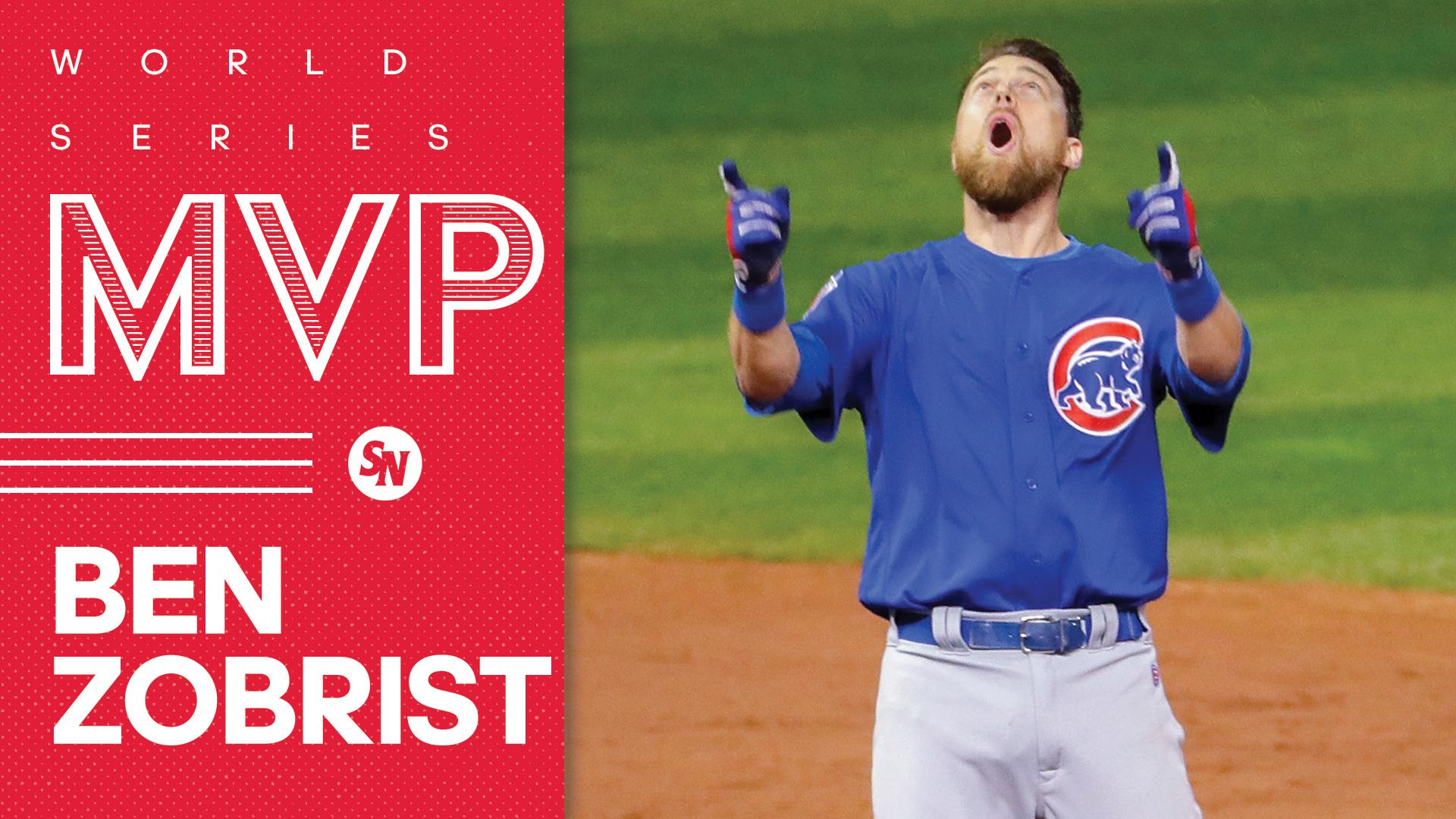 463590cbf Ben Zobrist named MVP of 2016 World Series