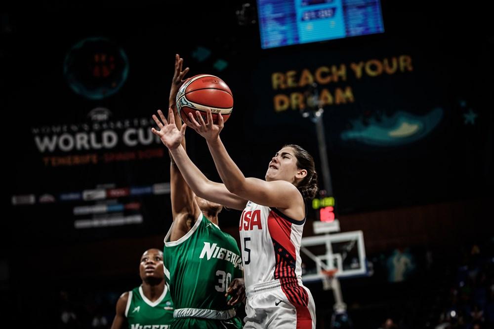 Kelsey Plum FIBA USA