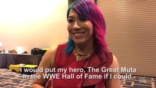 WWE アスカ レッスルマニア34 ホール・オブ・フェイム