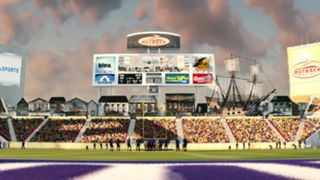NCAA Football 14 Outback Bowl Tennessee Northwestern