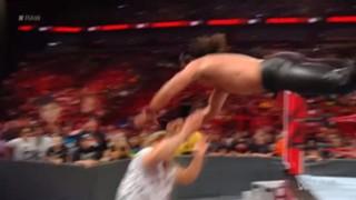 WWE ロウ #1315 セス・ロリンズ ドリュー・マッキンタイア