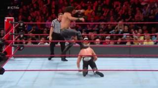 WWE ロウ #1321 IC王座戦