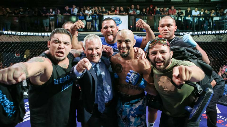 Combate Americas results: Jose Alday becomes first bantamweight champion