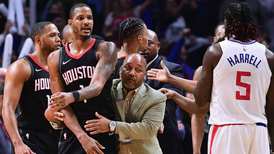 Rockets-Clippers beef continues in LA locker room; CP3, Harden, others call for Griffin