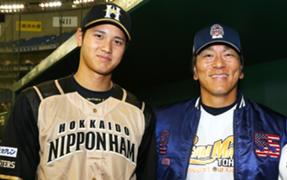 日本での松井秀喜氏と大谷翔平