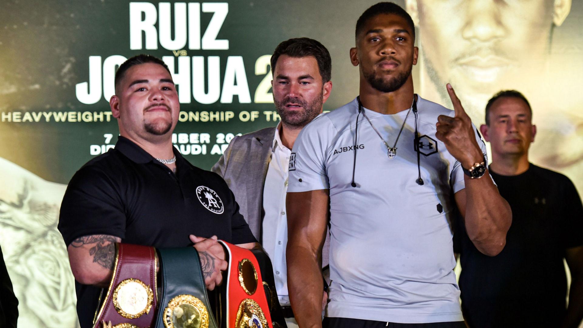 Andy Ruiz Jr. vs Anthony Joshua 2 fecha, hora, precio, probabilidades de boxeo, cartelera y cómo ver la pelea 2