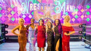 WWE レッスルマニア34 アスカ 人気