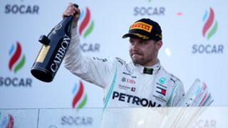 アゼルバイジャンGPで優勝した、メルセデスのバルテリ・ボッタス