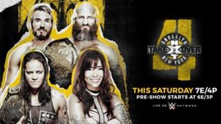 WWE NXT テイクオーバー ブルックリン4 カイリ・セイン