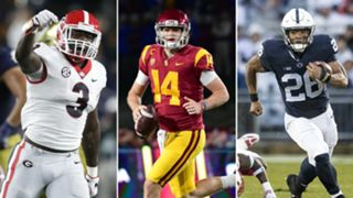 Roquan Smith-Sam Darnold-Saquon Barkley-120517-GETTY-FTR