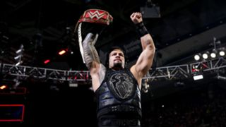 Universal Champion Roman Reigns is primed for his main event tag team bout.