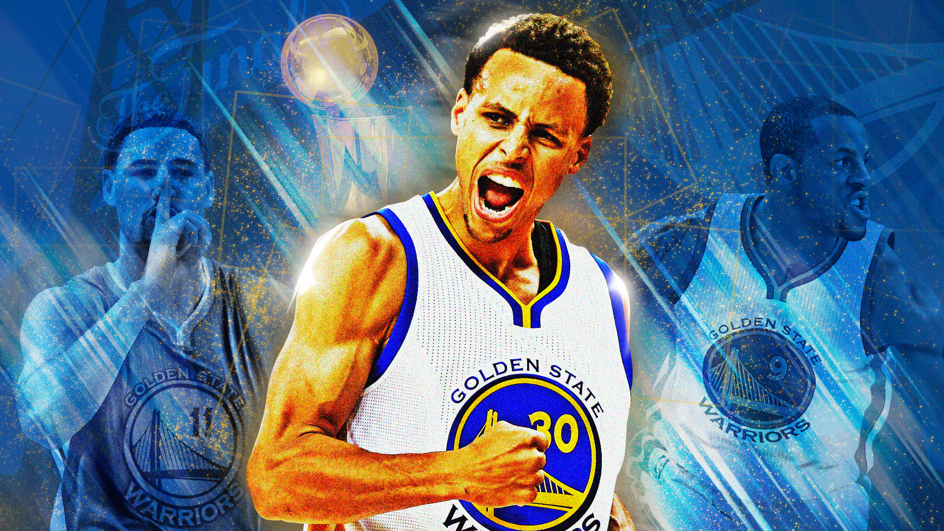 Sport Wallpaper Stephen Curry: The Warriors' Sunday Morning Wakeup