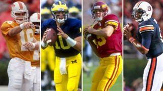 College rewind: Brady, Manning, Palmer and Newton were NFL