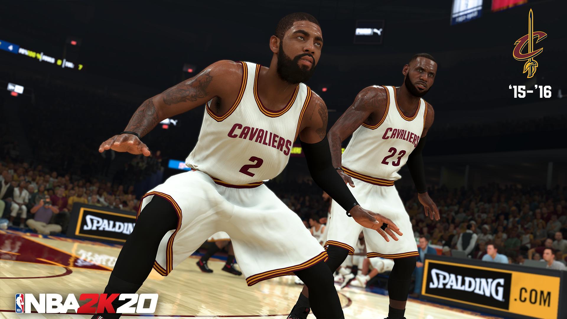 'NBA 2K20' adds six new classic teams, including 'Lob City' Clippers, champion Cavs
