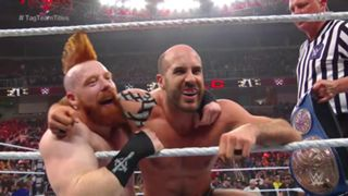 WWE, PPV, TLC, SDタッグ王座戦