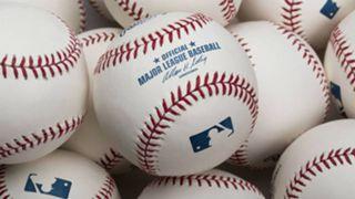 Official MLB baseballs