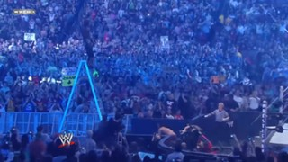 WWE マネー・イン・ザ・バンク シェルトン・ベンジャミン