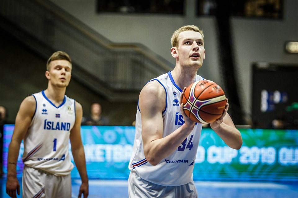 Tryggvi Hlinason FIBA Iceland