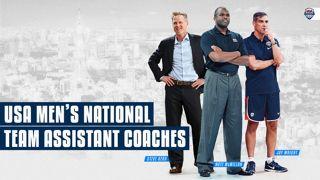 USA Coaches FIBA Basketball World Cup