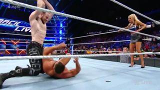 WWE スマックダウン #996 中邑 US王座 ルセフ