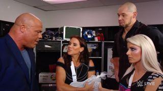 WWE ロウ #1317 カート・アングル ステファニー・マクマホン