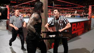 Roman Reigns receives $5,000 fine for shoving official on Raw