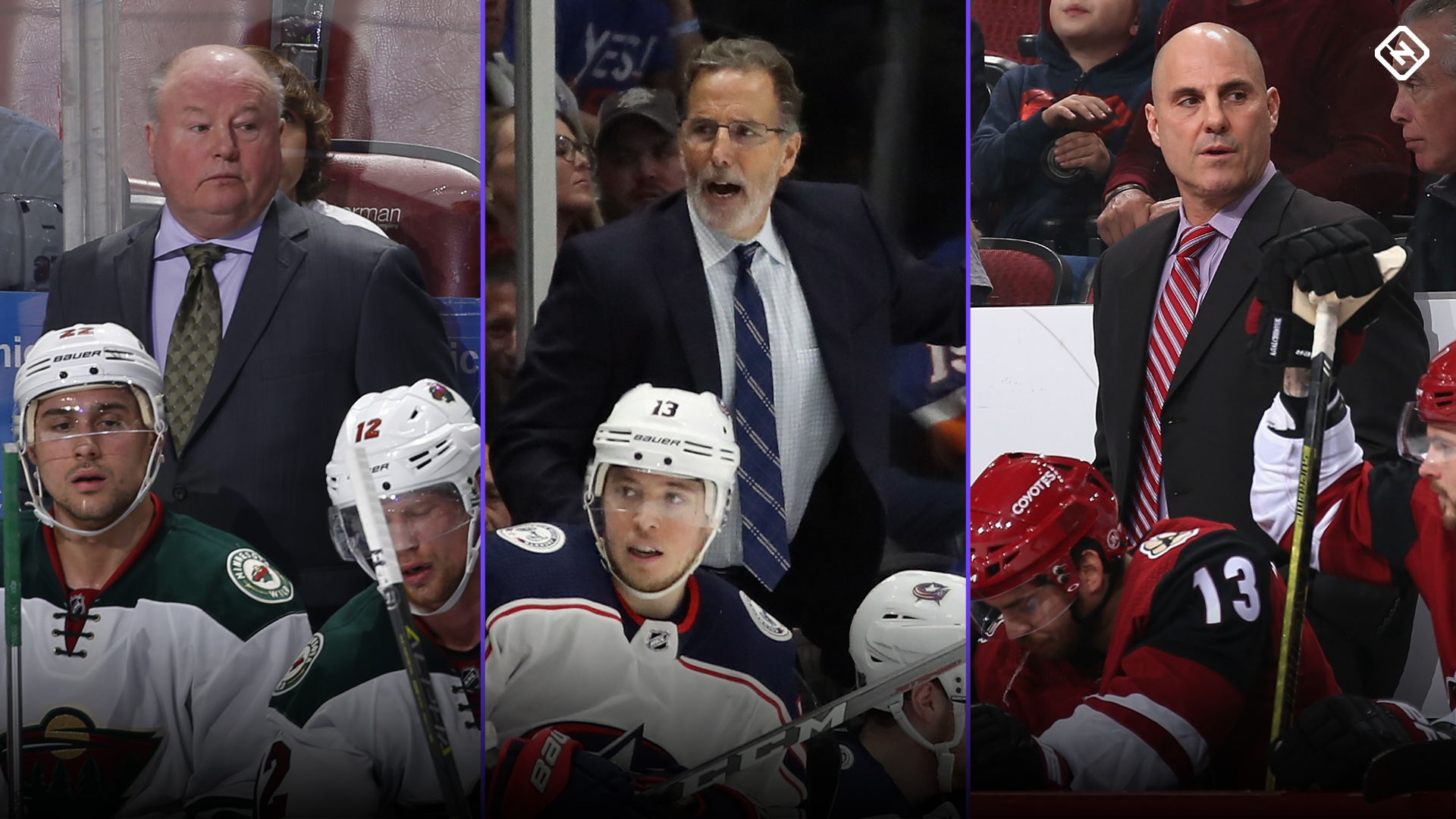 Mike Babcock, Bruce Boudreau and 4 other NHL coaches on the hot seat in 2019-20
