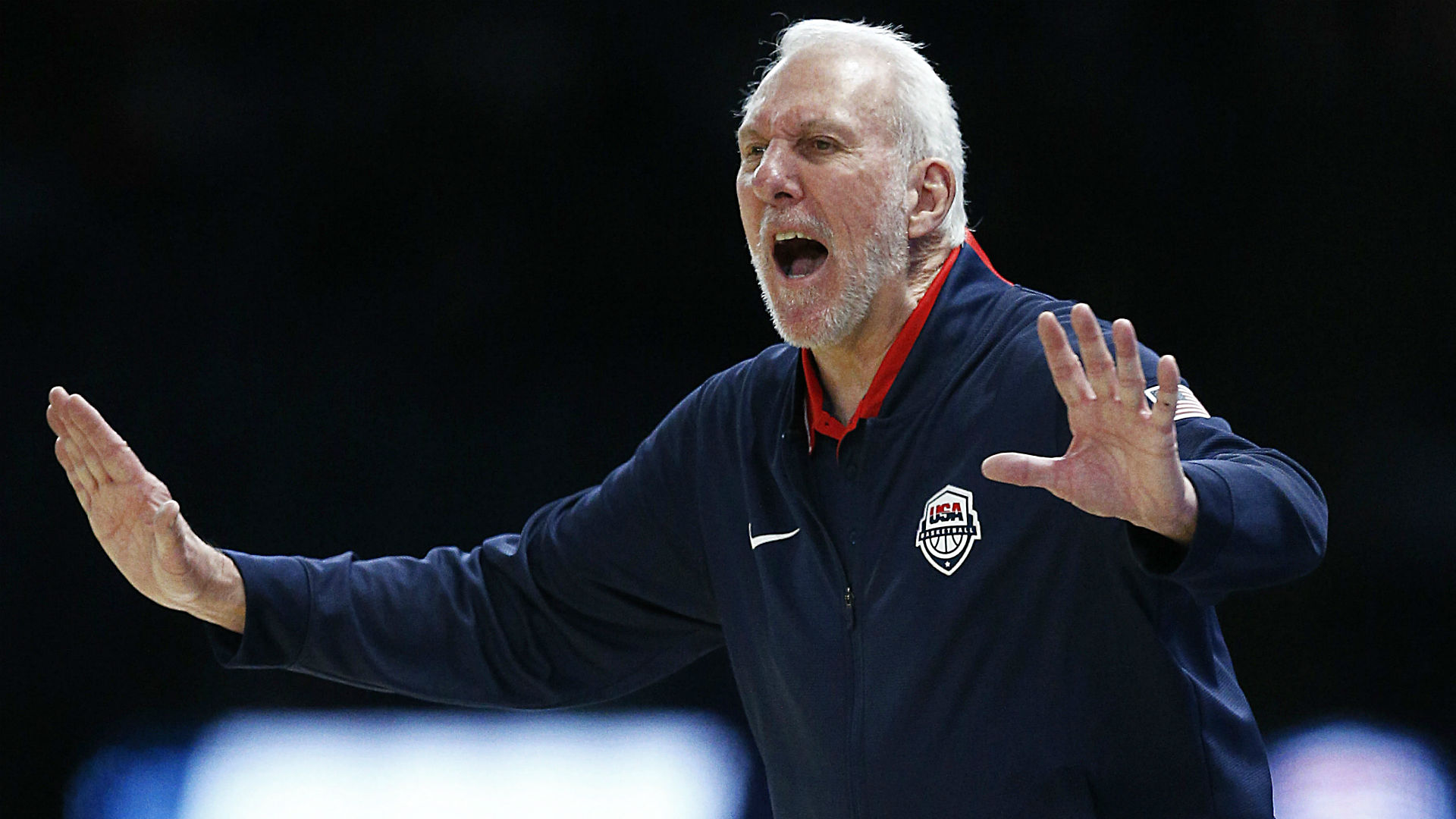 Gregg Popovich stresses learning, improvement after USA's 78-game winning streak ends