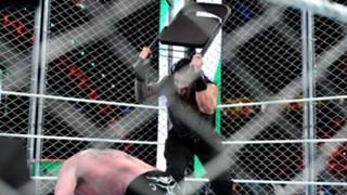 WWE グレーテスト・ロイヤルランブル ローマン・レインズ ブロック・レスナーブロック・レスナー 金網