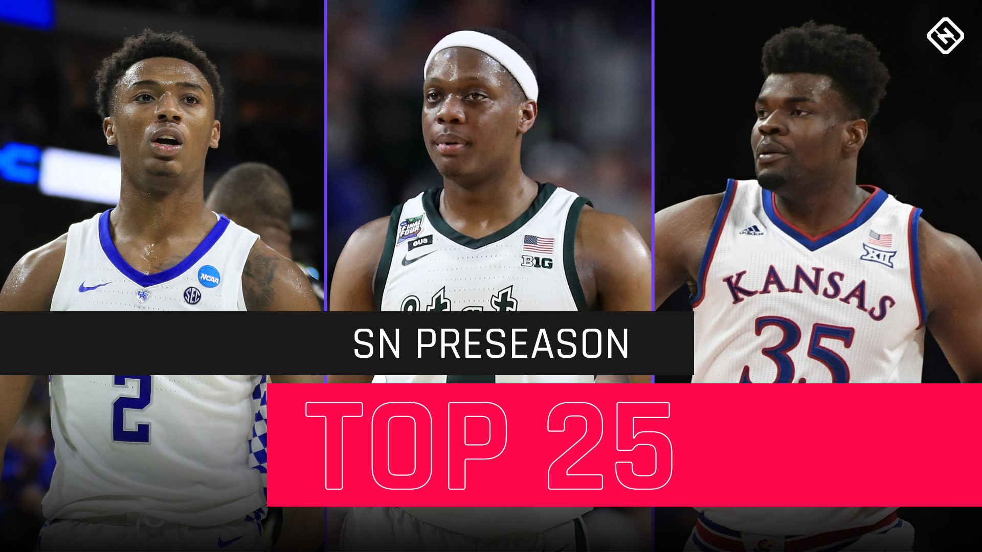 College basketball rankings: SN's updated preseason top 25 for 2019-20