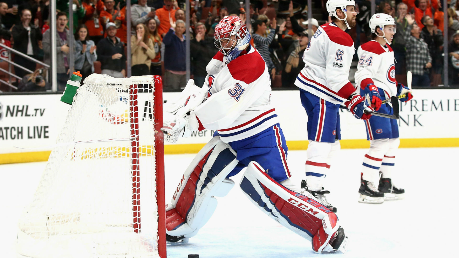 Carey Price loses his cool as Canadiens' slide hits seven games
