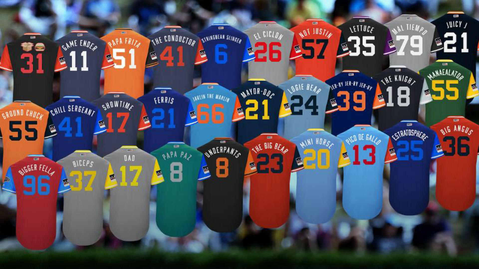 ec69f6ea The 25 best MLB Players' Weekend nicknames, ranked | Sporting News