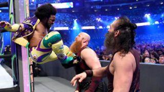 WWE レッスルマニア34 スマックダウン・タッグ王座 ニュー・デイ