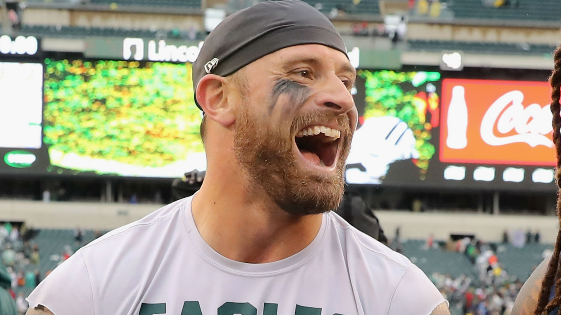 Chris Long explains why avoiding NFL training camp is like playing with puppies