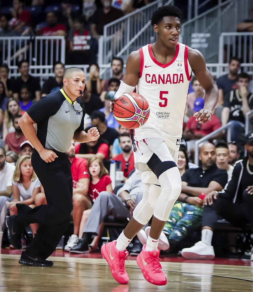 RJ Barrett FIBA Canada