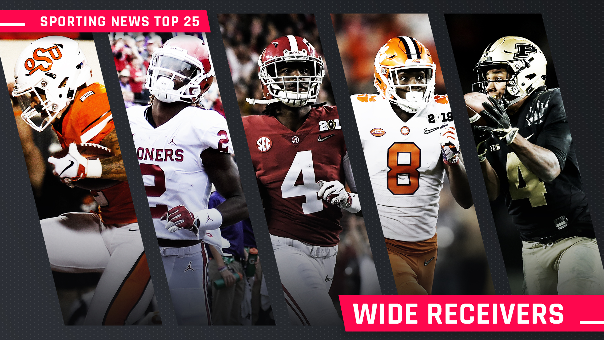 College football wide receivers rankings for 2019: Jerry