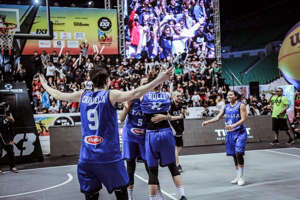 Italy FIBA 3x3 Champions Womens
