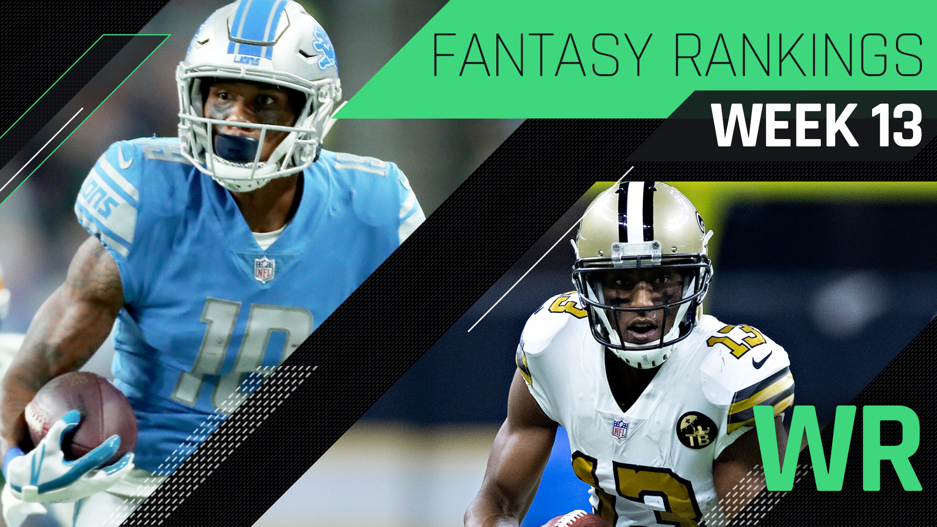 Week 13 Fantasy Rankings: WR | Sporting News
