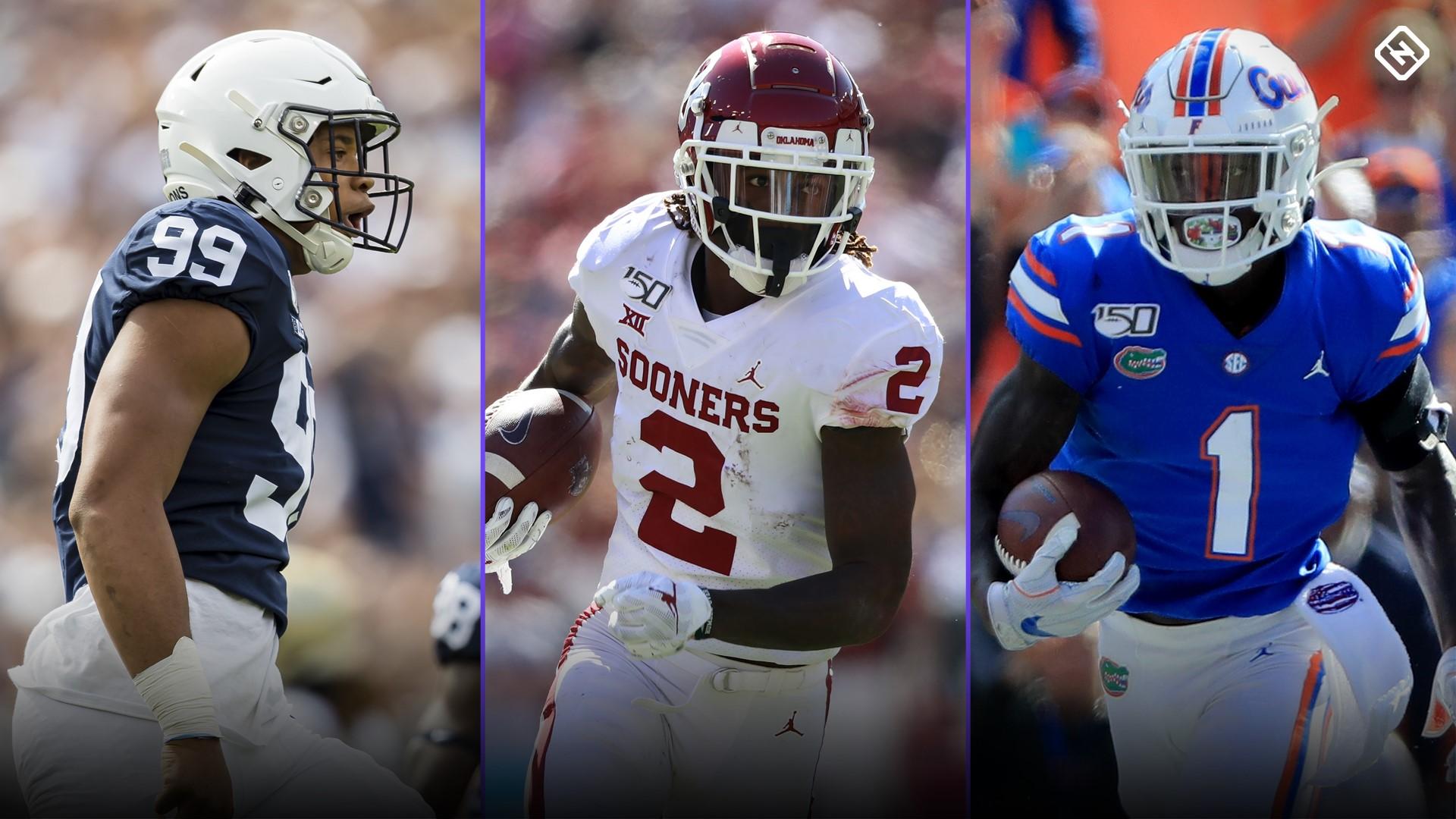 NFL Draft Declaration Tracker 2020: lista completa de estudiantes de primer año que abandonan el fútbol universitario temprano 2