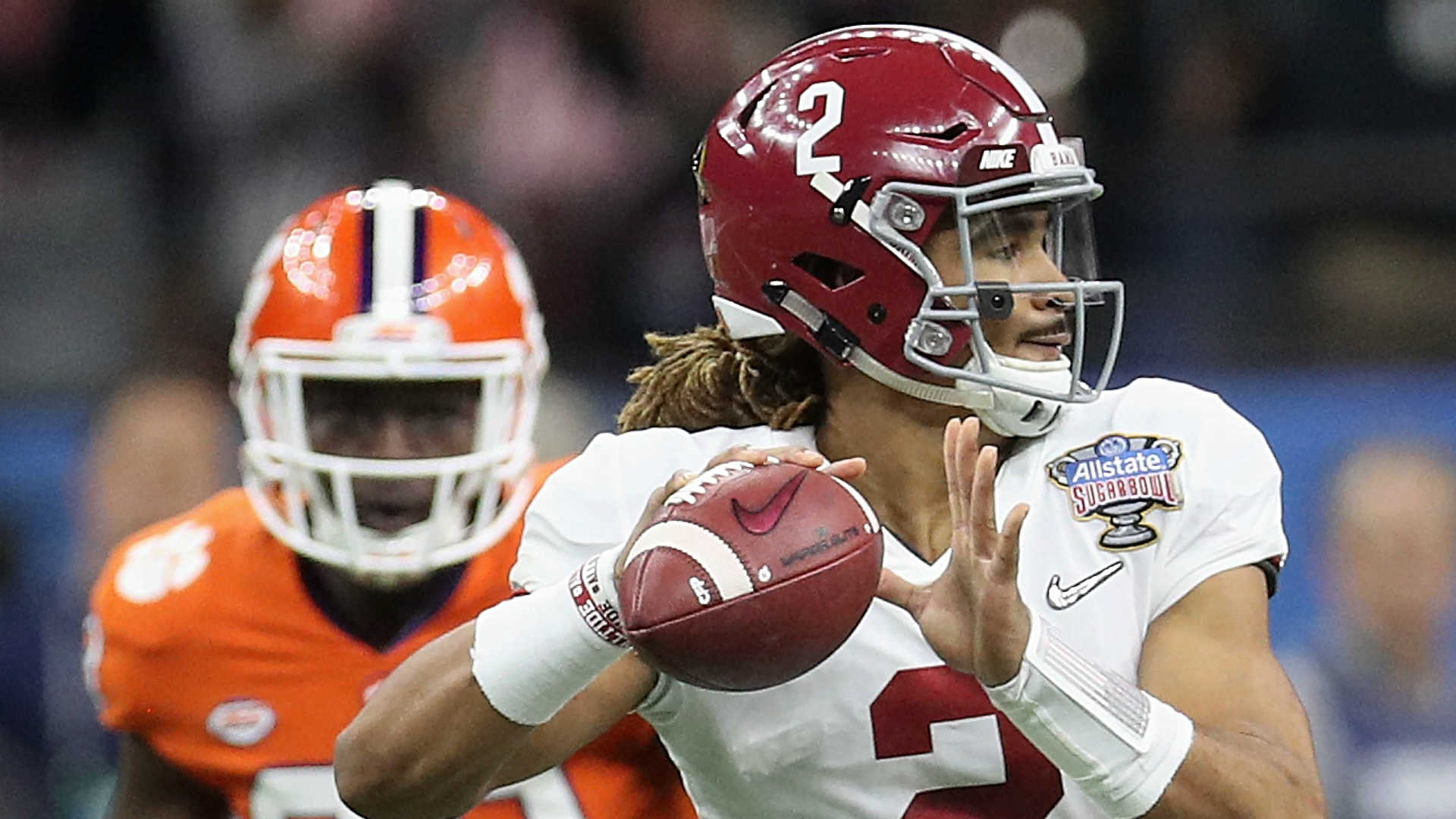 Two words help Jalen Hurts deal with pressure of playing QB for Alabama