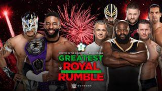 WWE グレーテスト・ロイヤルランブル サウジアラビア 史上最大 史上初 中邑真輔 ミステリオ