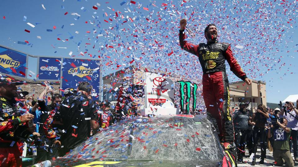 NASCAR at Sonoma results: Highlights from Martin Truex Jr.'s Toyota/Save Mart 350 victory